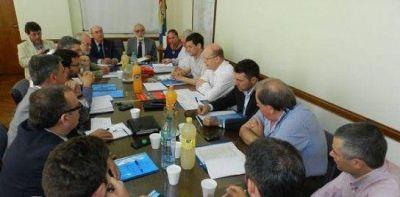 Se reunió el Gabinete del Ministerio de la Producción