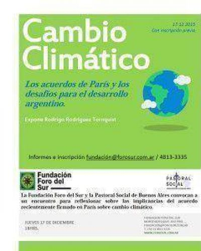 Desafíos para el desarrollo argentino de los acuerdos de París