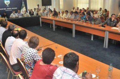 Peppo acordó acciones con intendentes del Frente Chaco Merece Más