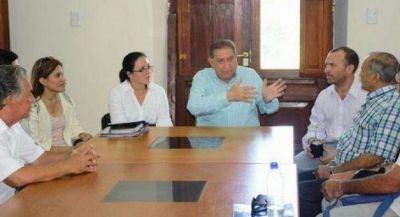 Jofré se reunió con personal de áreas clave del Municipio, empresarios y gremialistas