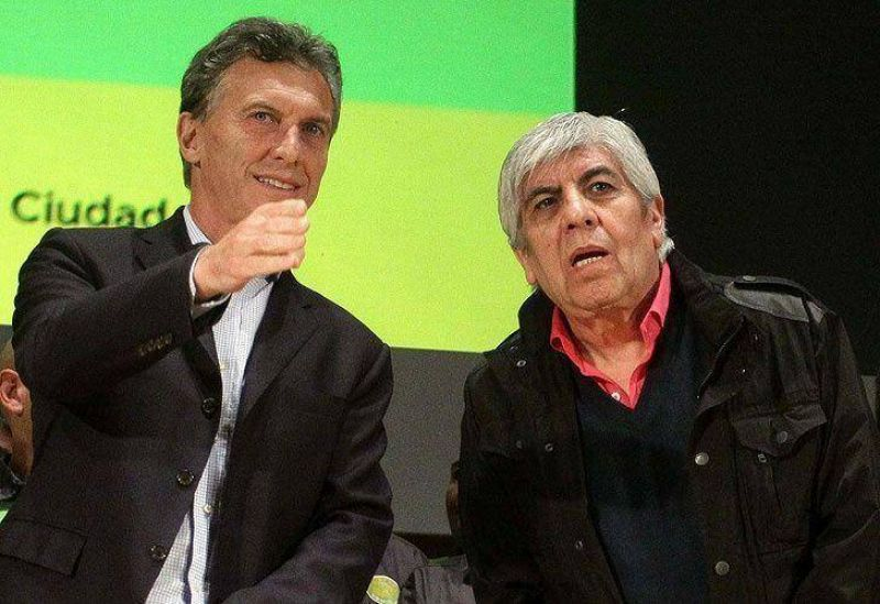 Moyano le reclamó a Macri que el