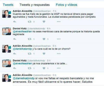 Daniel Katz y Adrián Alveolite se dijeron de todo por Twitter