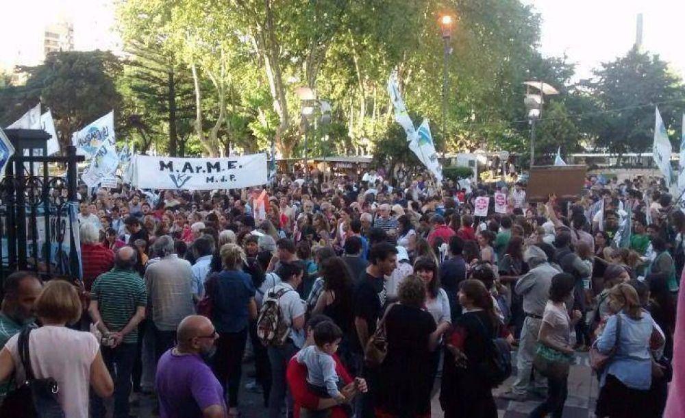 En Mar del Plata también hubo movilización en defensa de la Ley de Medios