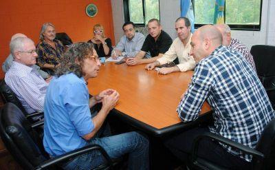 Quilmes: Molina se comprometió a remover las pérgolas de la Peatonal Rivadavia ante la solicitud de comerciantes
