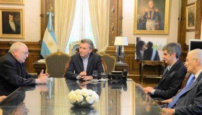 La Comisión Ejecutiva se reunió con el Presidente de la Nación