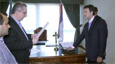 Morales Lezica juró como jefe de asesores del Gobernador