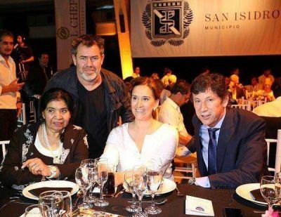 Michetti y Posse presentes en la cena solidaria para la Fundación Margarita Barrientos