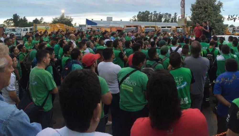No hay recolección de residuos por puja sindical del Surrbac