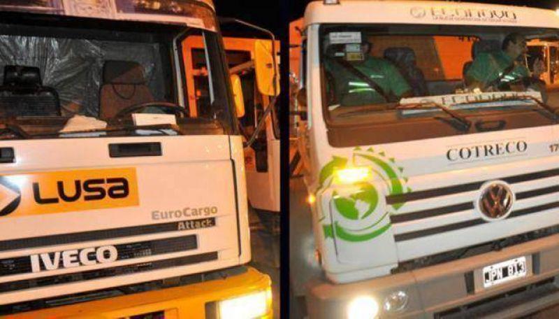 El conflicto de la basura: la Muni exigi� a las empresas normalizar el servicio