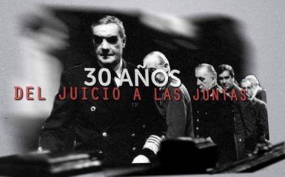 Acto en el Concejo a 30 años del juicio a las juntas militares