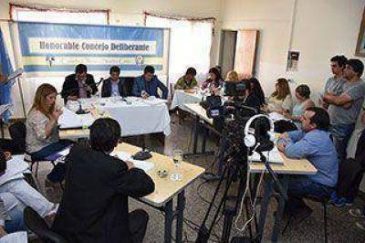 Concejales aprobaron los proyectos de Prades