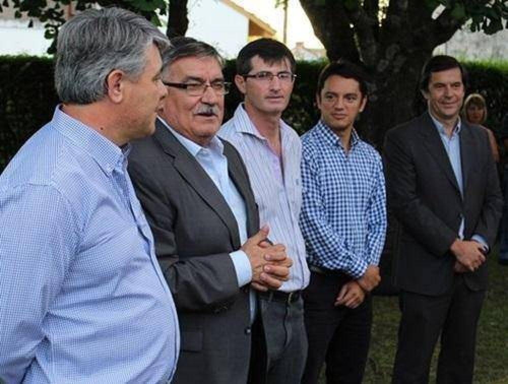 El intendente de Bragado presentó al nuevo delegado de O´Brien