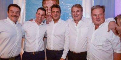 Con Massa presente, el Frente Renovador de la sección cerró el año en Roque Pérez