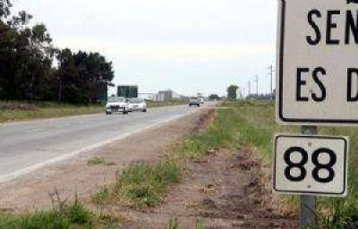 Reclaman a Vialidad mayor señalización en la ruta 88
