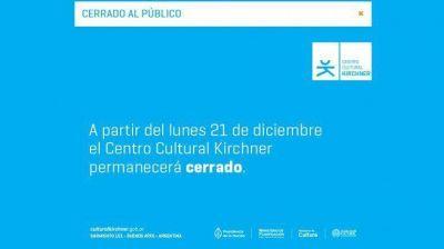 ¿Qué pasa con el Centro Cultural Kirchner?