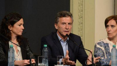 Mauricio Macri anunció beneficios para la Asignación Universal por Hijo