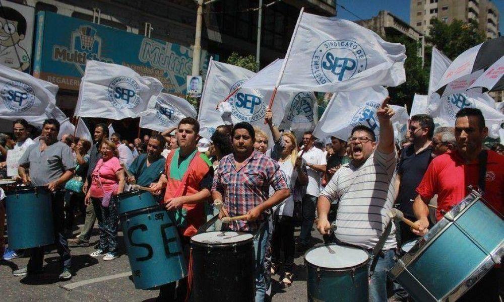 Movilización del SEP y estado de alerta de los docentes