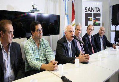 Crecida del Paraná: Lifschitz estuvo en Reconquista para monitorear la situación
