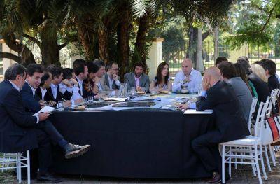 Rodríguez Larreta y Vidal encabezaron la primera reunión de Gabinete Metropolitano