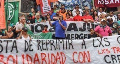 Contra el ajuste y la represión