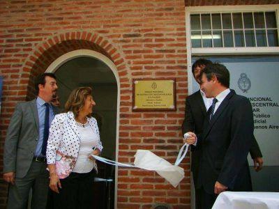 Se inauguró una nueva Fiscalía Descentralizada de Pinamar