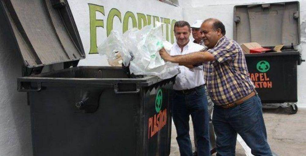"""Disponen un """"Ecopunto"""" en la capital para recibir residuos reciclables"""