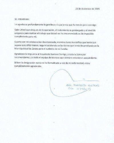 Renunció otro funcionario del Gabinete de Sujarchuk en Escobar