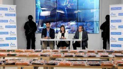 Simulaban una mudanza, pero desde Salta traían 400 kilos de cocaína
