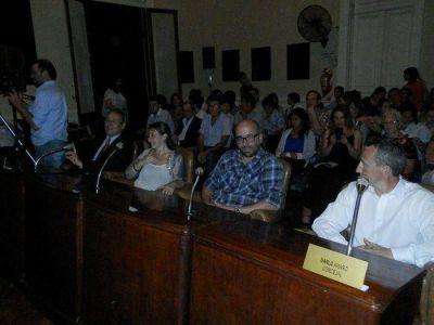 """Diego Yanson: """"Se nota que esta es una gestión que viene a hablar con la oposición cara a cara"""""""