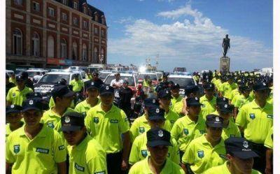 Durante el verano, Pilar pierde casi 50 policías por el Operativo Sol