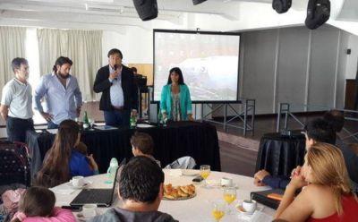Encuentro contra la violencia familiar y de g�nero con representantes de 9 municipios