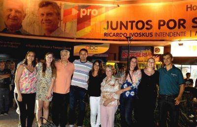 Con elogios a Macri y Vidal, los Ivoskus hicieron un balance positivo del año electoral