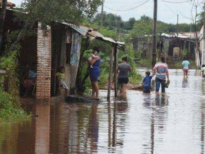 Cáritas Reconquista trabaja con las familias afectadas por la inundación