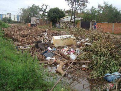 Quejas por falta de recolección de residuos en chacra 158