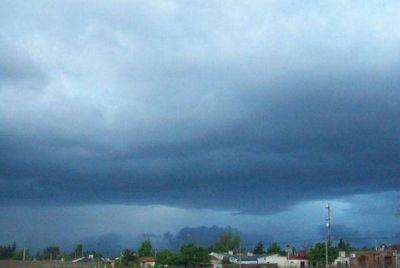 Alerta para La Pampa por tormentas fuertes