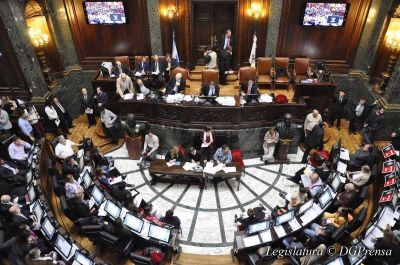 Ratifican denuncia contra el Presupuesto y los empréstitos