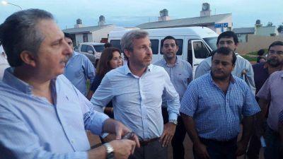 Frigerio prometió recursos para obras y discutir la coparticipación desde enero