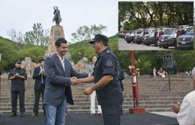 Incorporaron 41 móviles para reforzar el servicio de seguridad en la provincia