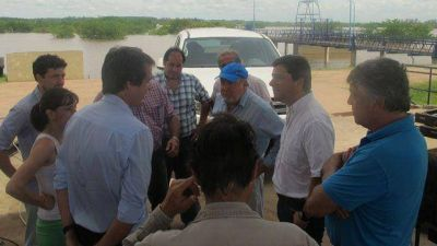Inundaciones: Busti recalcó que la Defensa se hizo en su gestión