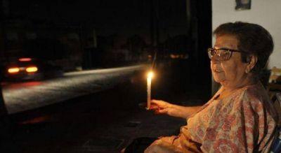 Más de 300 mil personas afectadas por los cortes de luz en el Conurbano y alrededores