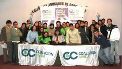 La Coalición Cívica marcó presencia parlamentaria
