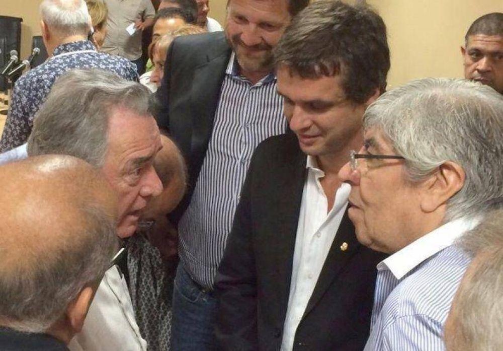 Moyano y Barrionuevo comprometieron 6 millones de pesos para Concordia
