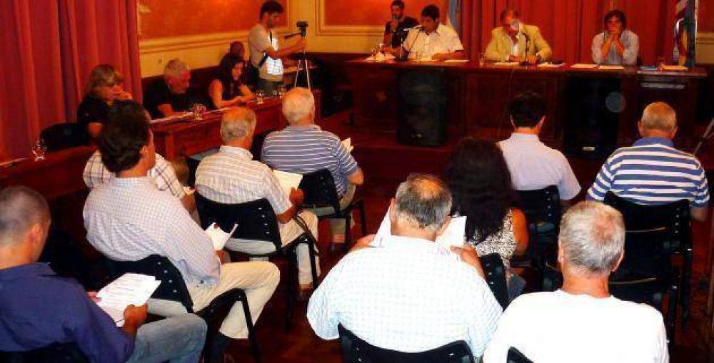 Asamblea de Mayores Contribuyentes para tratar el aumento de tasas
