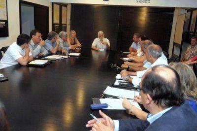 El intendente se reunió con autoridades del Ministerio de Salud