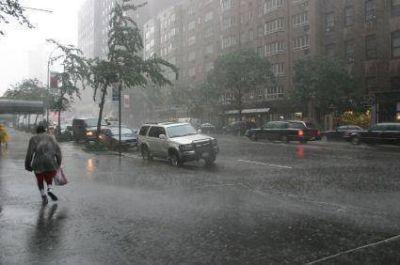 Alerta por tormentas a corto plazo para el centro del país