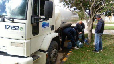Los intendentes de Bah�a, Rosales, Tornquist y Villarino se re�nen por los problemas con el agua