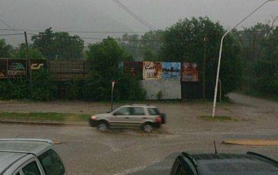 Intensas lluvias y granizo en zonas serranas de Córdoba
