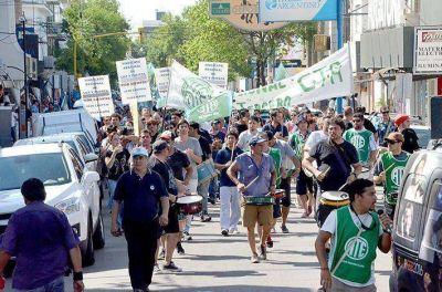 Se movilizaron contra el recorte jubilatorio y medidas de Nación