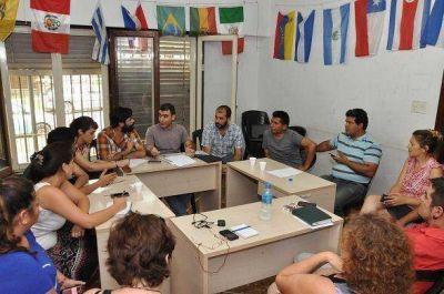 Encuentro de concejales de la primera sección electoral en Tigre