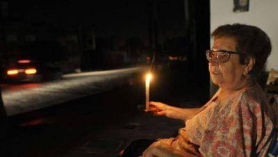 Cortes de luz: más de tres mil hogares de Morón afectados
